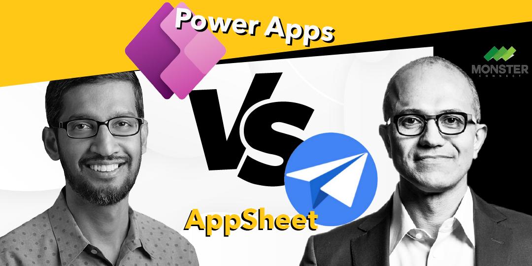 Power Apps กับ Appsheet อันไหนดีกว่ากัน?